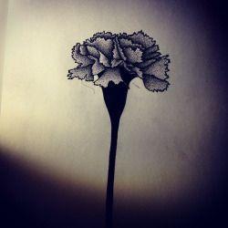 Oeillet Fleur,Tatouage