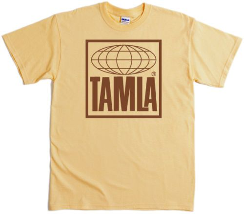 Tamla-Records-T-Shirt-4-Colours-Screenprinted-Motown-Stax-Northern-60s-Soul-Mod