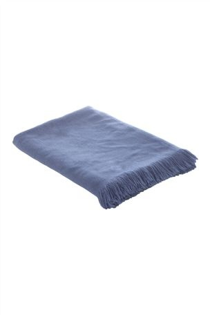 Blue Ombre Knit Throw - Next