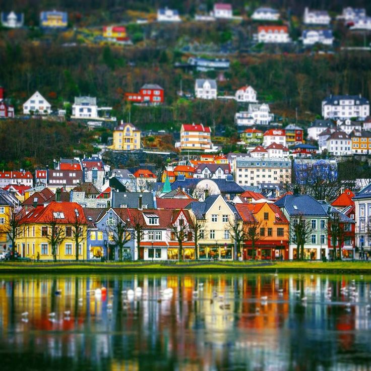 Bergen Norway's Second City and the Gateway to the Fjords. Photo by @craigwoodger on Instagram.