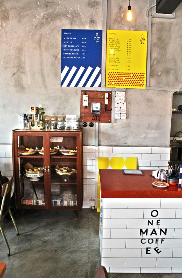 Coffees Places and Bakeries in Singapore: One Man Coffee
