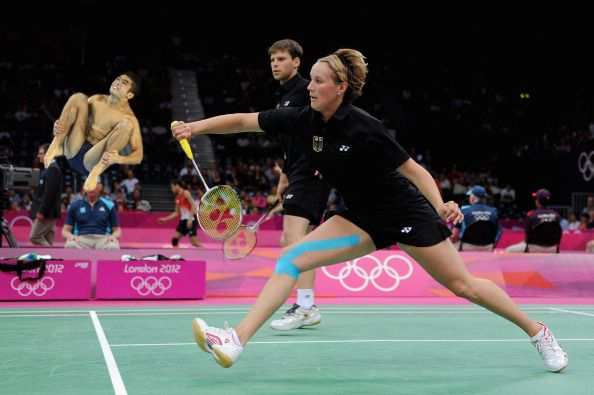 4. | 20 Photos Of Olympic Badminton Players Swatting Divers Like They're Flies