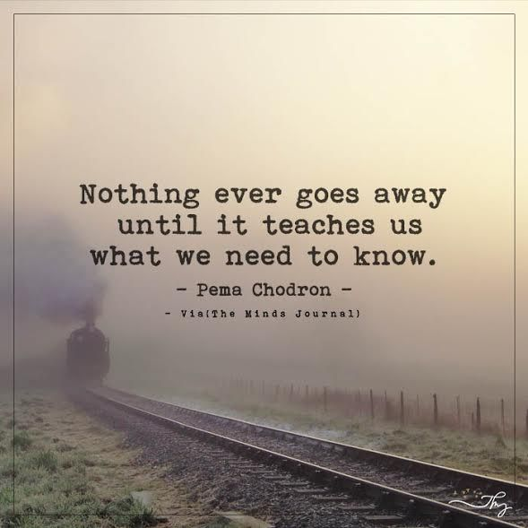 Nothing ever goes away - http://themindsjournal.com/nothing-ever-goes-away/