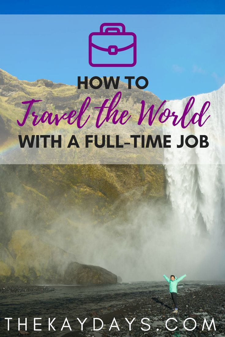 You don't have to quit your job to travel the world. In the past year, I have been able to visit 12 countries on 5 continents, all while working full-time. Learn how you can maximize your life outside the office and travel the world with a full-time job!