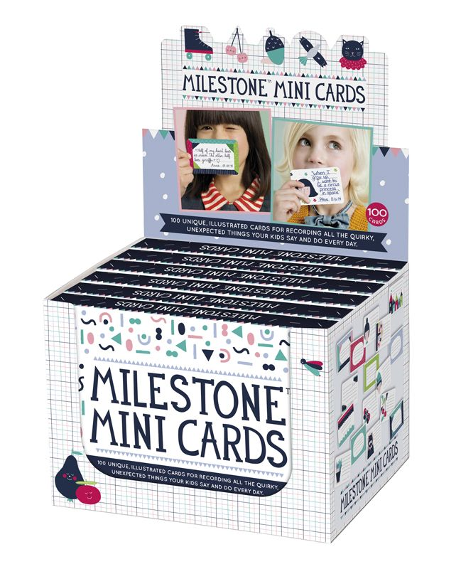 100 unique, illustrated cards for recording all the quirky, unexpected things your kids say and do every day by MILESTONE™ Cards. http://www.milestonecards.com/milestone-mini-cards/
