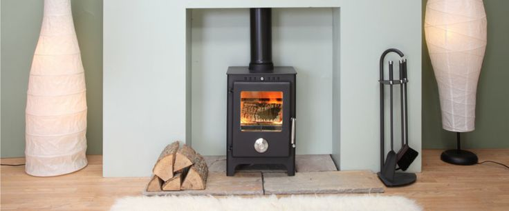 Mendip Stoves - Mendip 5 - Perfect for any home with clean retro design - like this stove very much as well! £800 best price I found
