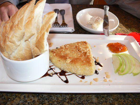 Macadamia Crusted Brie