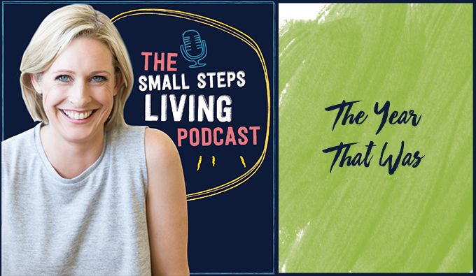 In this solo episode, Lisa looks back at 2016 – how deciding to be guided by the feelings that are important to her (joy, feeling grounded) helped make this a better year. Connect with Lisa athttp://smallstepsliving.com/ Check out this episode! Prefer to read? Here's the transcript: Hey guys, welcome to...