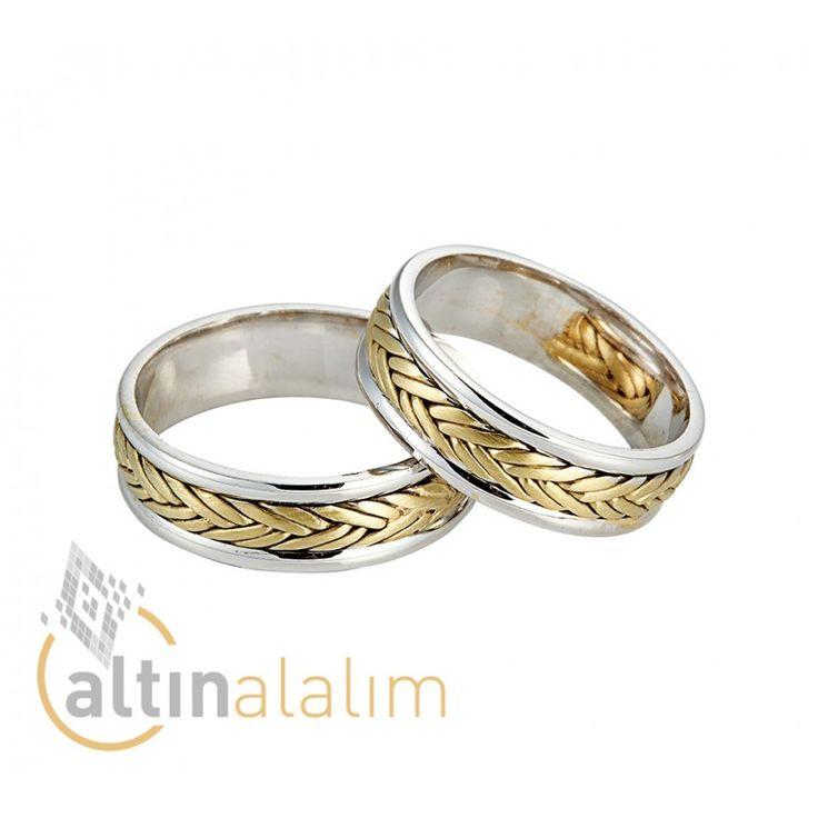 Özel Altın Çift Alyans - sa0706