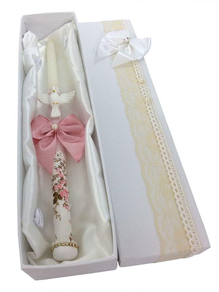 vela-decorada-batizado-menina-branco-e-dourado