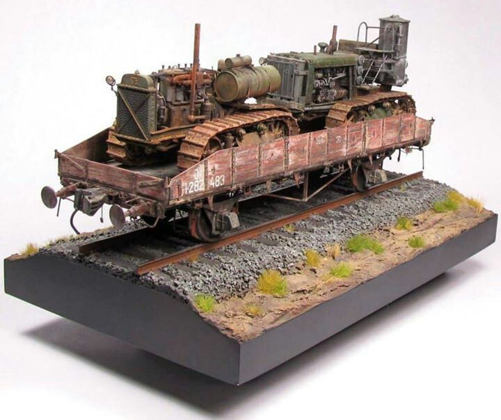 Simple but nicely done models pinterest dioramas for Scale model ideas