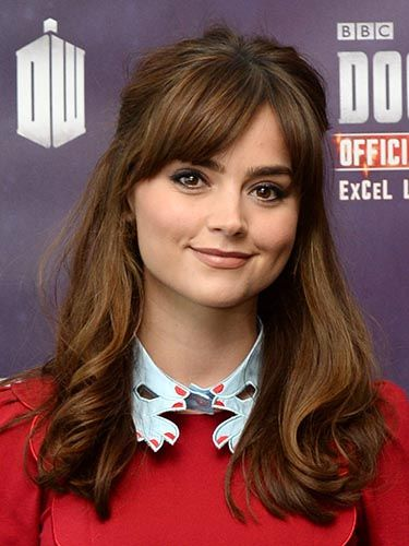 Jenna-Louise Coleman has the perfect preppy hairstyle