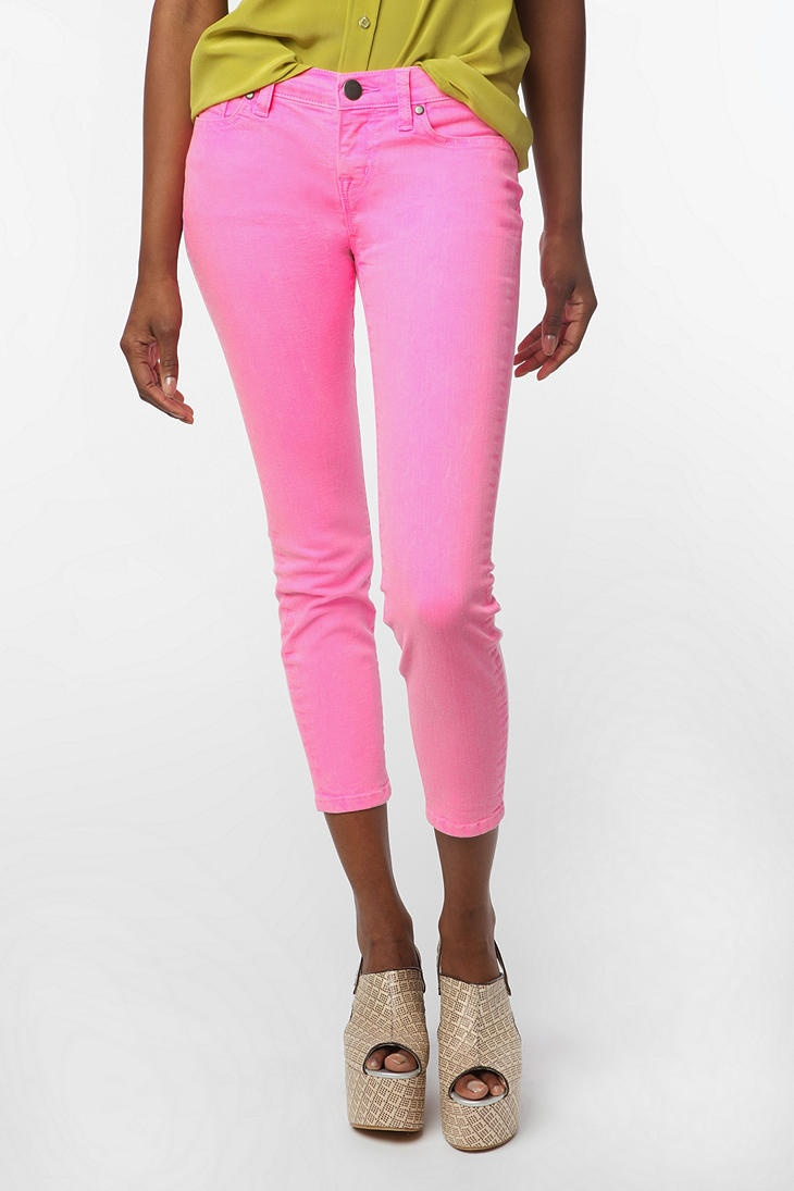 Urban Outfitters BDG neon pink jeans
