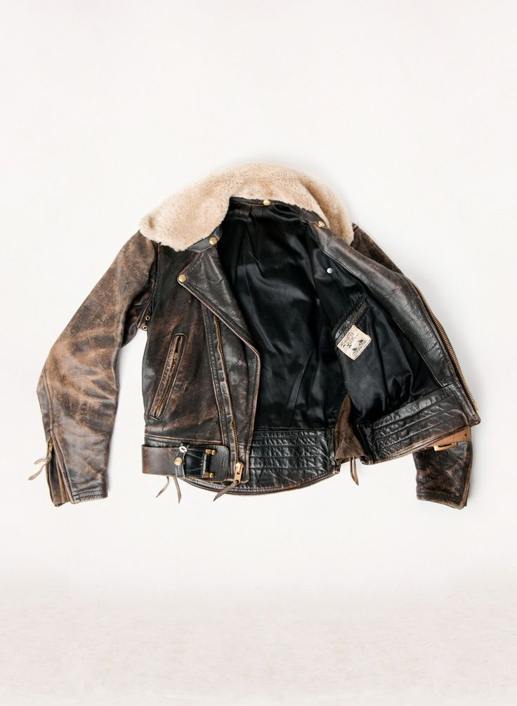 vintage langlitz leather jacket