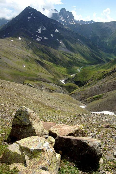 Gruzie - horská turistika