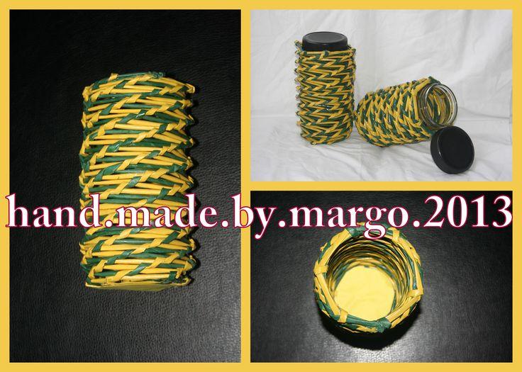 green yellow jar for sugar,coffee or tea (set of 3)