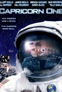 Capricorn One (1977) - A NASA Mars mission won't work, and its funding is endangered, so they decide to fake it just this once. But then they have to keep the secret...