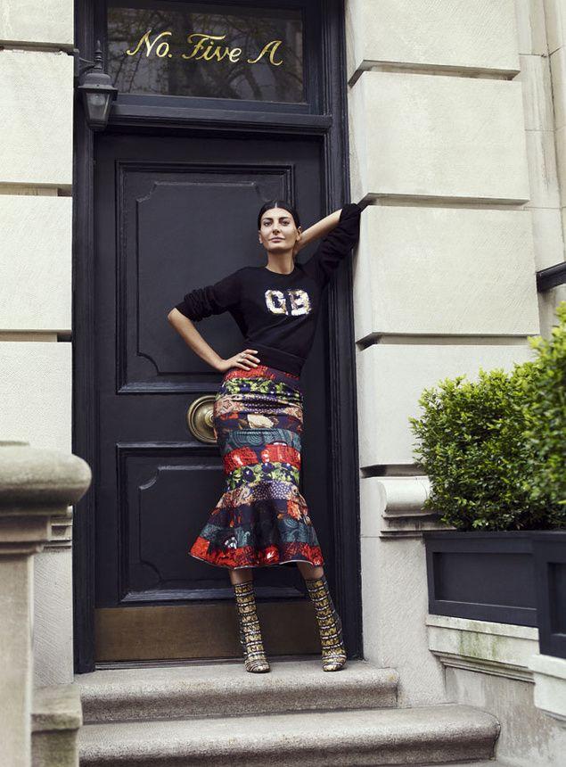 Giovanna Battaglia - Fashion Editor