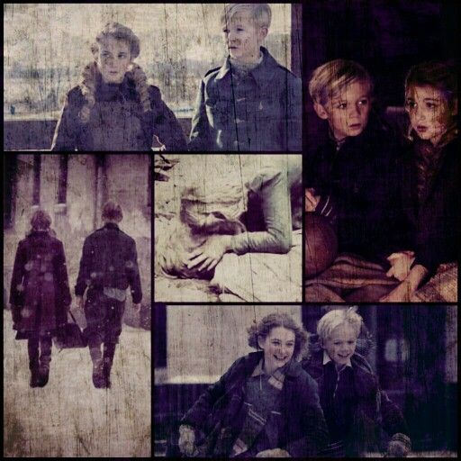 The book thief..a story about courage, adventure, love and a kiss..