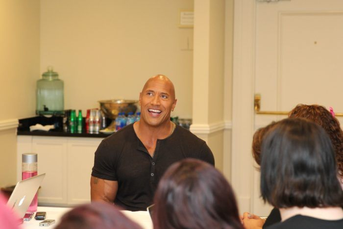 Talking with the Sexiest Man Alive, Dwayne Johnson, about bringing the character of Maui to life in the new Disney film Moana!