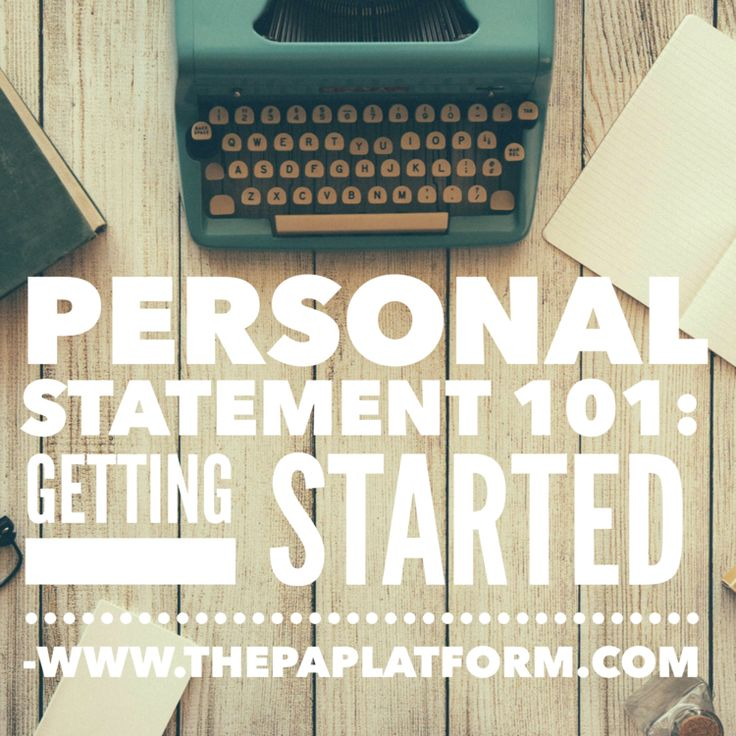 Related For     personal statement for pa school examples Pinterest