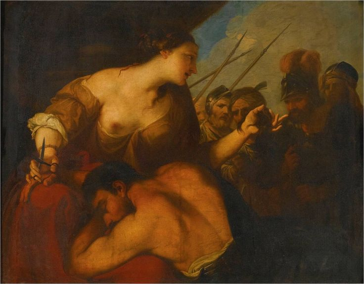 Samson and Delilah, Antonio Bellucci