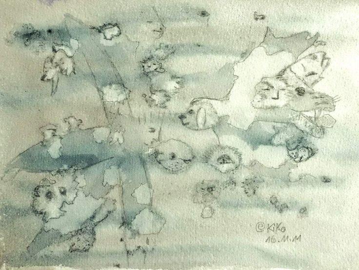 Kirsten Kohrt watercolor/pencil... Credit: KIRSTEN KOHRT  (Click to Support Artist)