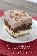 chocolate-italian-cake