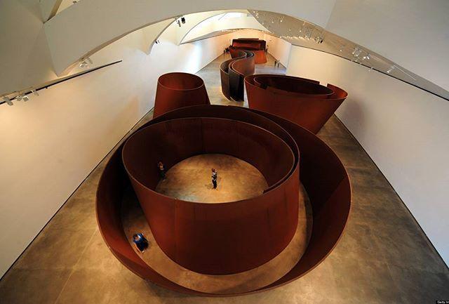 Sculpture by Richard Serra  #art #artist #sculpture #architecture #designs