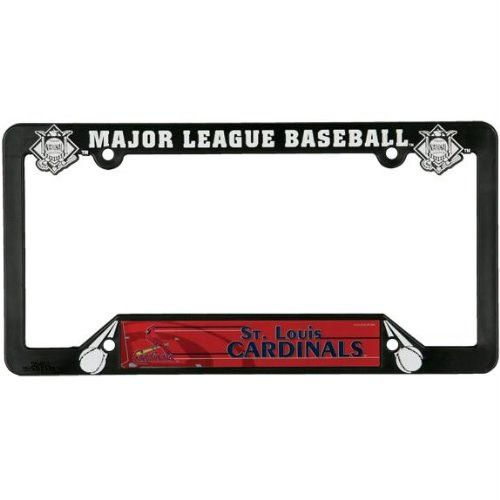 st louis cardinals logo license plate frame mlb pro baseball