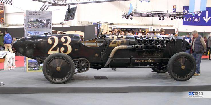 The Brutus, 42 liter BMW airplane engine powered car