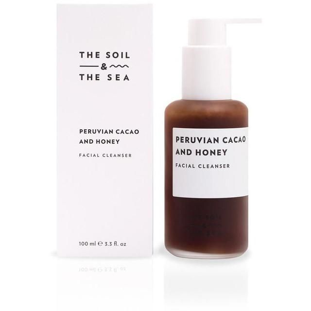 The Soil and the Sea Peruvian Cacao and Honey Facial Cleanser  // Good Cubed