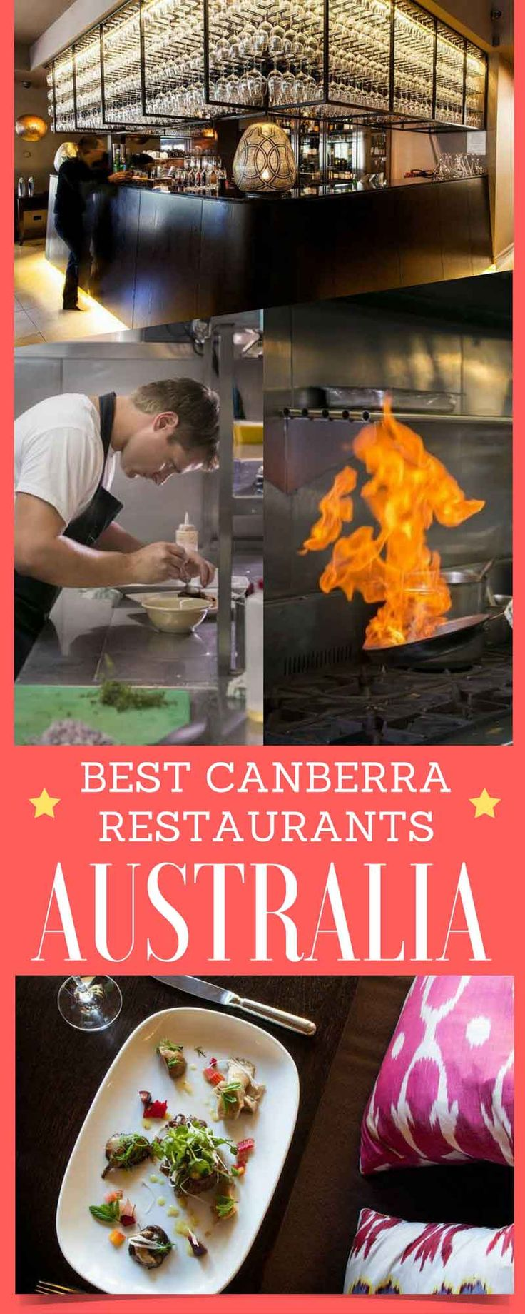 Best Canberra restaurants. It wasn't my fault. At least, probably not. Back in 2010, when Australian Traveller magazine presented the 100 Greatest Australian Gourmet Experiences