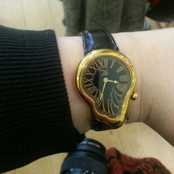 Salvador Dali Melting Wrist Watch December 2017