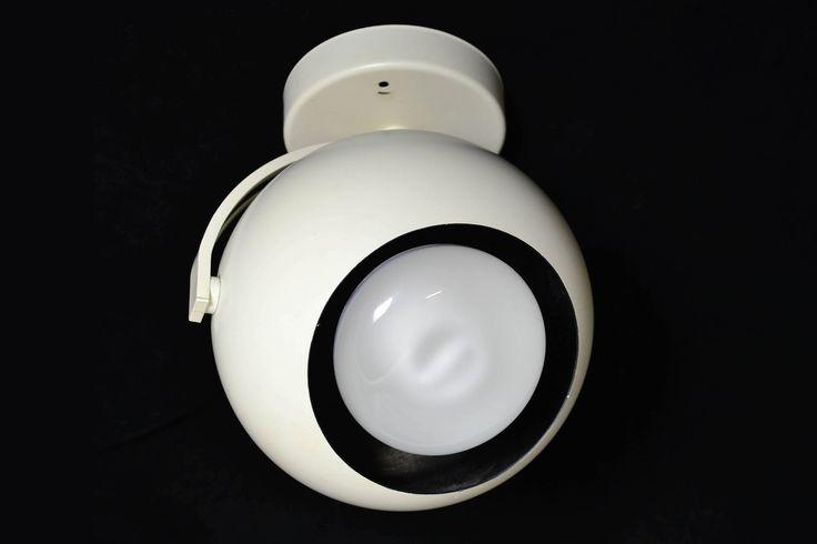 Retro Modern Eyeball Orb Light Fixture by OffCenterModern on Etsy