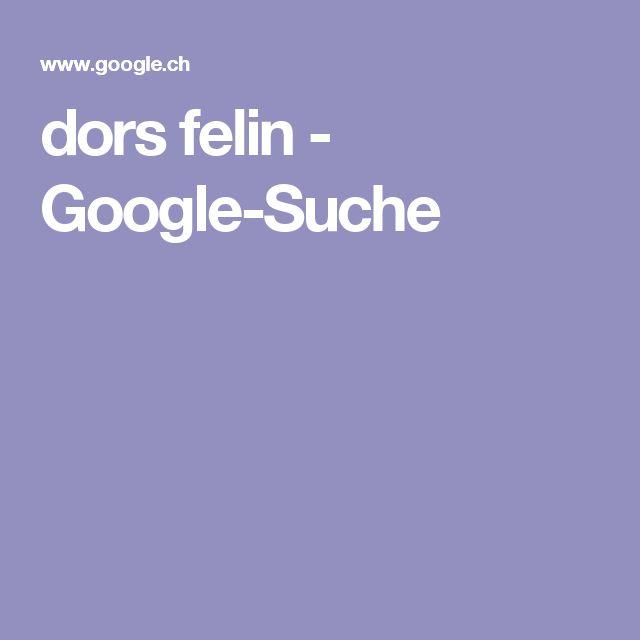 dors felin - Google-Suche