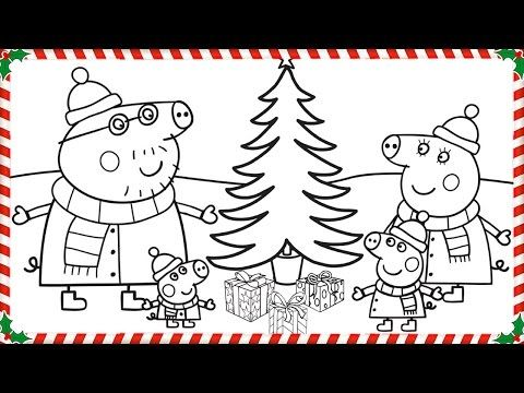Peppa Pig Christmas Coloring Book Pages Kids Fun Art Coloring Videos For Kids Youtube Peppa Pig Coloring Pages Christmas Coloring Books Peppa Pig Christmas