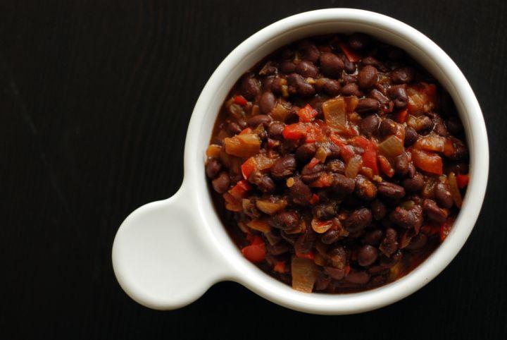 Cuban Beer-Infused Black Beans
