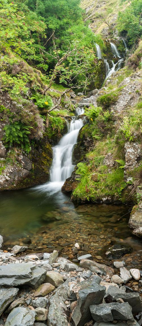 Cascade. The Hidden Waterfall. Yorkshire by AdamClarkPhotography