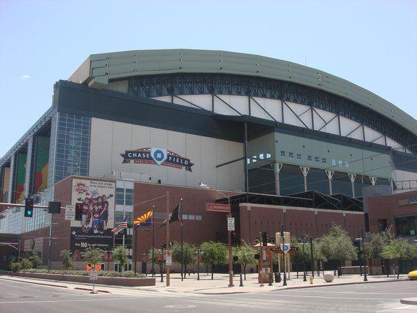 Chase Field - Home of the Arizona Diamondbacks