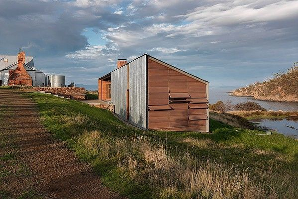 Shearer's Quarters by John Wardle Architects in Tasmania, winner of Australian House of the Year 2012.
