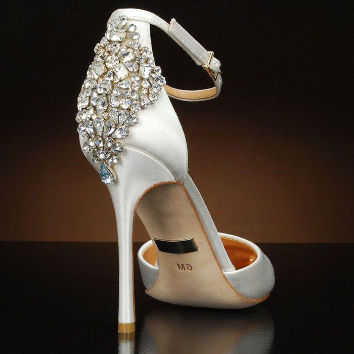 Spectacular Gem by Badgley Mischka Wedding Shoes at My Glass Slipper