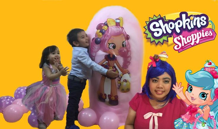 Shopkins World's Biggest Shopkins Shoppies Bubbleishia Giant Egg Surpris...