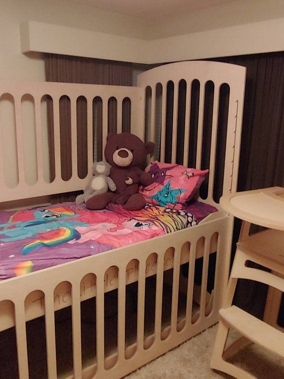 Abdl Adult Size Crib With Drop Side For Fits A Standard Twin High