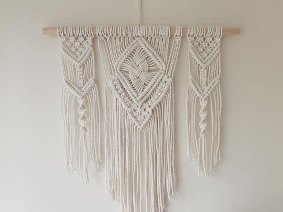 Macrame Wall Hanging by BOTANICAhome on Etsy                              …