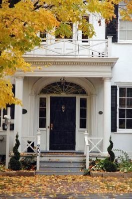 The Charles Inn, a wonderful destination for an autumn getaway in Niagara-on-the-Lake; great pub & dining room