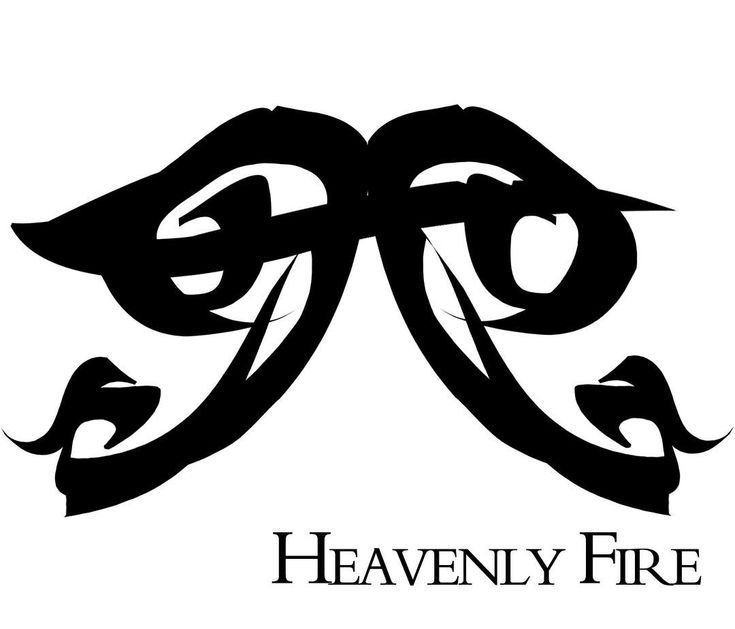"""""""Clary woke to the fading image of a rune against her closed eyelids, a rune like two wings connected by a single bar."""" - Heavenly Fire rune newly designed by rune artist Val Freire"""