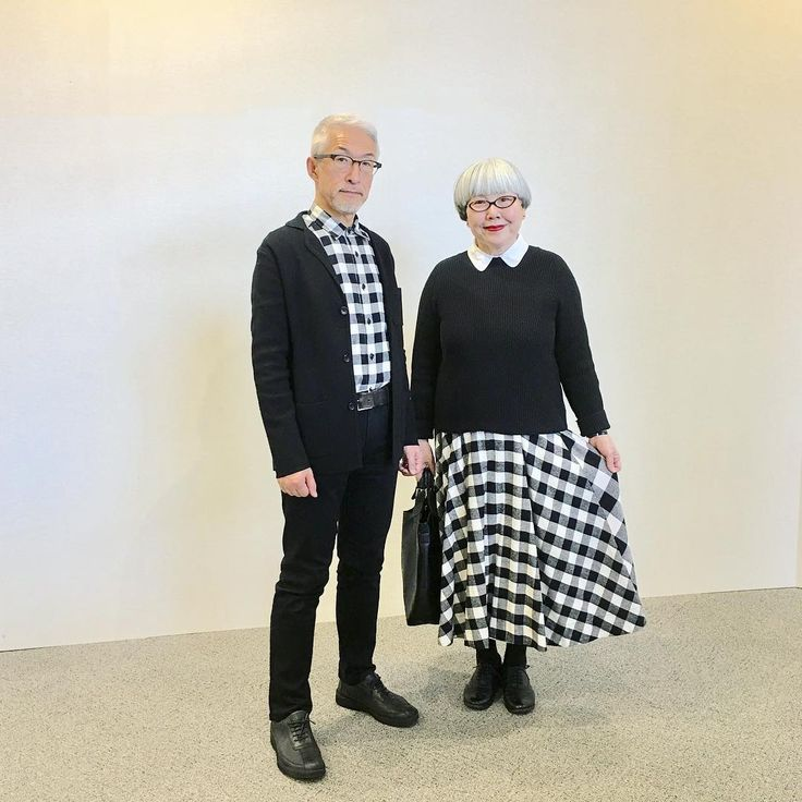 """1,347 Likes, 61 Comments - bon_pon (@bonpon511) on Instagram: """"ブロックチェックのリンクコーデ #couple #over60 #fashion #coordinate #outfit #ootd #instafashion #instaoutfit…"""""""