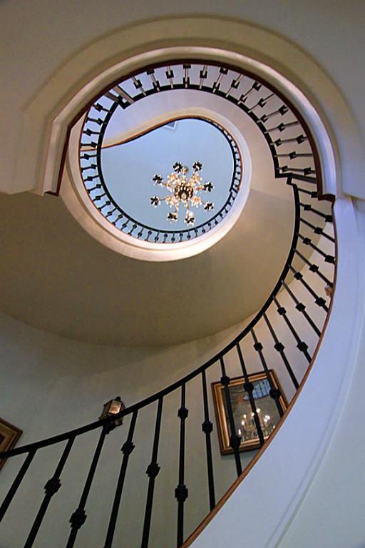 beautiful custom interior stairways. Beautiful Front Elevation With Stone Trim, Custom Door, European Flair. Gated Entry · Luxury InteriorStairwaysFront Interior Stairways I