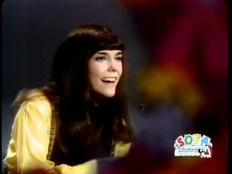 "The Carpenters ""We've Only Just Begun"" on The Ed Sullivan Show"